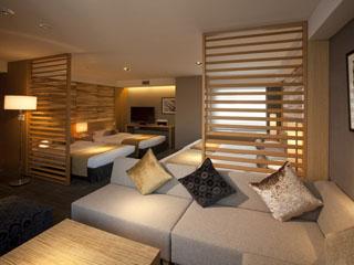 京王プラザホテル札幌 家族やグループなど、4人でゆったりと過ごせる贅沢空間