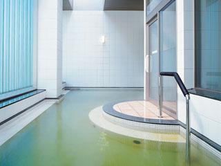 札幌プリンスホテル タワー2階にある宿泊者専用の天然温泉。筋肉痛や疲労回復の浴用効能があります