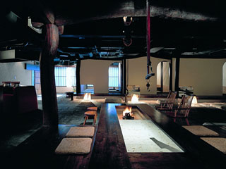 支笏湖第一寶亭留翠山亭 お食事処「苔庵」 他グリル鉄板焼きコーナーもあります