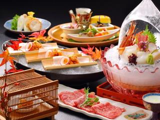 ホテルきよ水 熟練の料理人が日本の心を味覚からもお届け致します