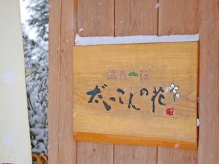 温泉山荘だいこんの花 投稿者:フルーツパーラーさん8