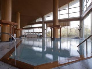 伝承千年の宿 佐勘 大浴場が2012年リニューアル。開放的な陶器露天も新設