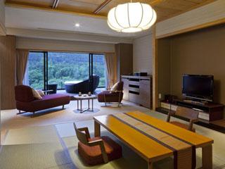 鬼怒川金谷ホテル 客室は和と洋が融合した金谷スタイルの和室や洋室、スイートなど6タイプから選べる