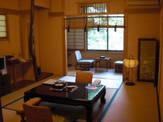 平成の旅籠なかざわ旅館 7室のお部屋は全て異なった造りで、風流な装飾