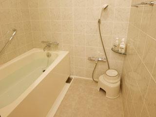ホテル エミオン 東京ベイ 全室洗い場付きバスルームを完備
