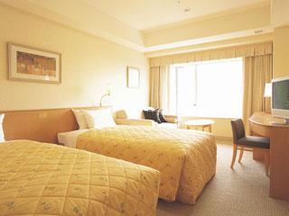 ホテル エミオン 東京ベイ 明るく開放感溢れるスタンダードツイン