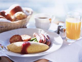ホテルニューオータニ幕張 朝は優雅に美味しい朝食を