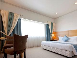 ホテルフランクス 様々な部屋タイプの全222室。お得な宿泊プランも豊富