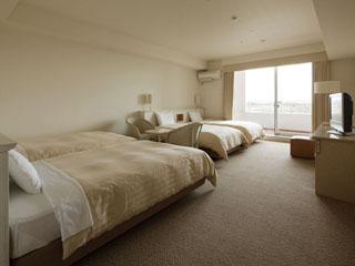 三井ガーデンホテルプラナ東京ベイ 奥行き2mの開放感あるバルコニー付きのスタンダードバルコニー
