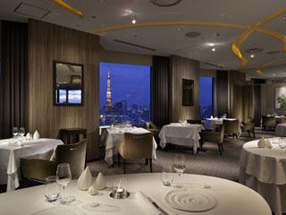 ANAインターコンチネンタルホテル東京 三ツ星シェフとして名高いピエール・ガニエール氏がプロデュースするレストラン