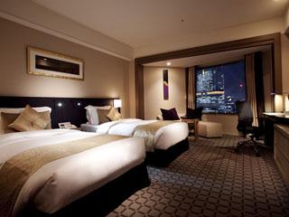 ANAインターコンチネンタルホテル東京 21階~27階に位置するエグゼクティブデラックスツインルーム