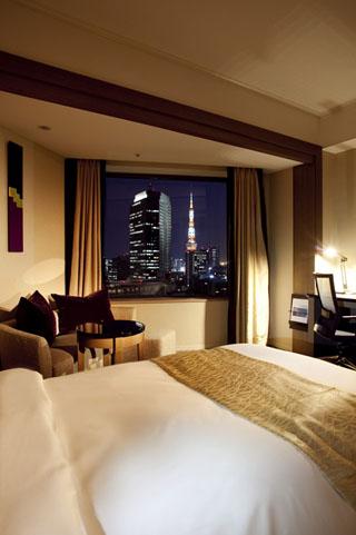 ANAインターコンチネンタルホテル東京 東京タワーが見渡せる東京湾側の客室イメージ