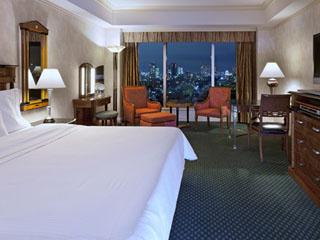 ウェスティンホテル東京 全室にウェスティン ヘブンリーベッド完備。バスルームには独立したシャワーブース