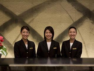 コートヤード・マリオット銀座東武ホテル 滞在中は、きめ細やかなサービスを心がけています