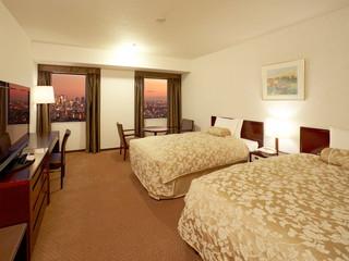 サンシャインシティプリンスホテル パノラマツインルームA ※パノラマフロアは2015年9月より最上階の37階から順次改装予定