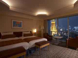 ザ・プリンス パークタワー東京 東京タワーを望む38平米のスーペリアツインルーム