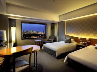 セルリアンタワー東急ホテル シンプルモダンの中に和のエッセンスを配した客室