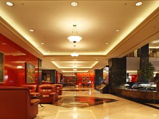 ホテルイースト21東京(オークラホテルズ&リゾーツ) ヨーロッパ様式のクラシカルで明るい雰囲気のロビー