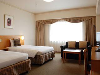 ホテルメトロポリタンエドモント 最大4名まで泊まれるファミリールームはバブルバス付き