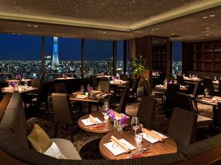 浅草ビューホテル 27階「THE DINING シノワ 唐紅花&鉄板フレンチ 蒔絵」