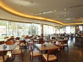 東京ベイ有明ワシントンホテル 1階レストラン ジョージタウン店内