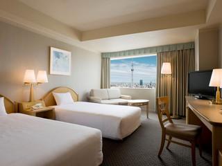 東武ホテルレバント東京 北側客室は東京スカイツリー(R)を望めるスカイツリー(R)ビュールーム