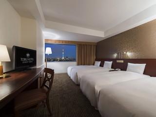 東武ホテルレバント東京 ご家族やグループに最適な4名様のお部屋もご用意