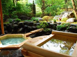 吉池旅館 専用の露天風呂が付いた特別な客室もございます