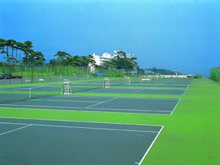 大磯プリンスホテル 充実したスポーツ施設(テニスコート)