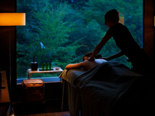 箱根フォンテーヌブロー仙石亭 様々な相乗効果による当館ならではのオーガニックアロマスパもお楽しみいただけます