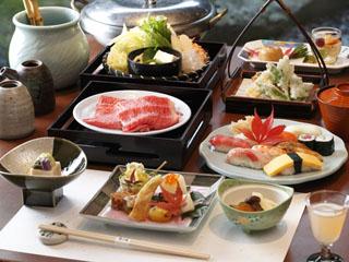 箱根強羅温泉季の湯雪月花 ご夕食は、2つの食事処より、その日の気分でお選び頂けます(イメージ)
