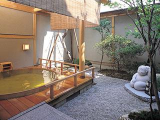 ホテル清風苑 美人の湯 露天風呂