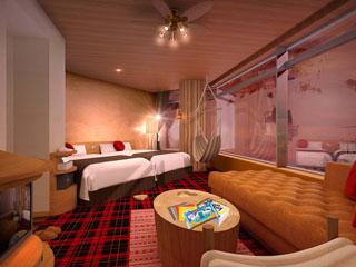 苗場プリンスホテル 2012年12月に一部のお部屋がリニューアルいたしました