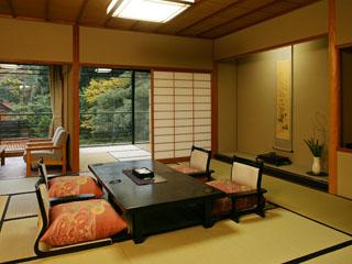たちばな四季亭 純和風基本客室12.5畳タイプ