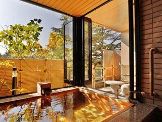 まつさき バリアフリー客室 露天風呂