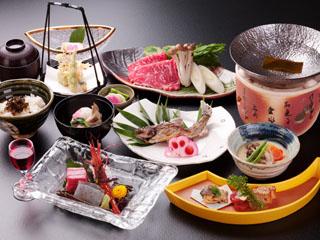 ホテルアンビエント蓼科 季節の食材を使った本格日本会席料理
