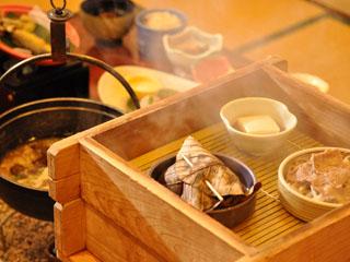 奥飛騨ガーデンホテル焼岳 海の物は使用せず、奥飛騨ならではの料理をお楽しみください