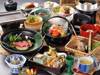 穂高荘山のホテル 料理