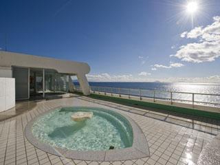 海一望絶景の宿 いなとり荘 女性露天風呂