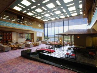 ホテル九重 ロビー/浜名湖と大草山の雄大が景色がお出迎え