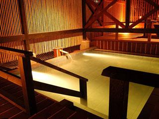 貸切風呂の宿 稲取赤尾ホテル 海諷廊 大浴場は男女別2カ所ございます。湯巡りをどうぞ