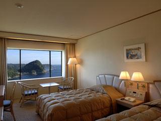 下田東急ホテル スタンダードツインルームの一例