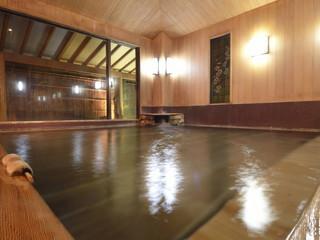 正平荘 樹齢2000年の古代檜のきめ細かな大浴場内風呂