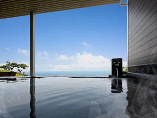 焼津グランドホテル 眼下に広がる大海原を眺めながら、天然温泉露天風呂でくつろぎのひとときを