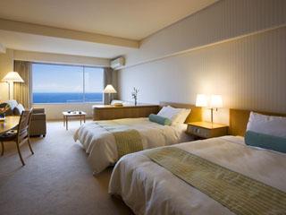 焼津グランドホテル 駿河湾を一望できる洋室をはじめ、和室・和洋室でリゾート感覚を満喫