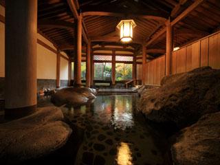 新井旅館 文化財の大浴場 天平大浴堂