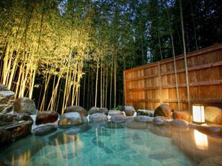 奈良偲の里 玉翠 無料でお入りいただける貸切露天風呂(要予約)