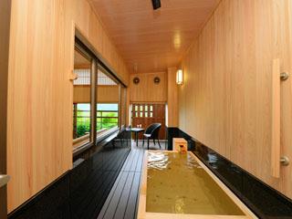 奈良偲の里 玉翠 和モダンスイート(Cタイプ)半露天風呂