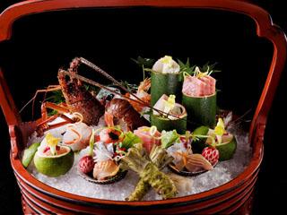 旬の食材を生かした日本料理