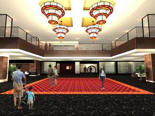 浜名湖ロイヤルホテル 2012年7月13日、1階のリニューアルが完了